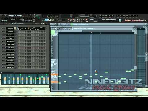 FL Studio ACG - Cek Suara Drum Template Dari Ninedigitz Studio