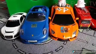 PJ MASK Cars Vehicles Auto Dump Truck ANIMALS Spiderman For Children Kids Nursery Rhymes Songs