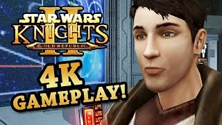 4K Gameplay of Star Wars Knights of the Old Republic II