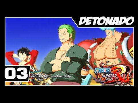 One Piece Unlimited World Red - Detonado Parte #3 - Zoro e Franky aparecem!