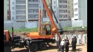 УГМК 12(Сваебойная установка УГМК12 на автомобильном шасси КАМАЗ 53228., 2014-03-12T10:17:08.000Z)