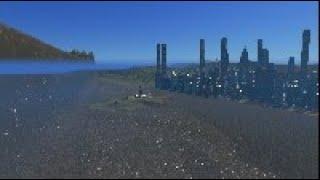 500.0 Mega Tsunami destroys 25k City | Cities Skylines Tsunami #125