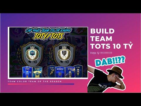 FIFA Online 4 | Build team color TOTS - 10 tỷ đá ngon