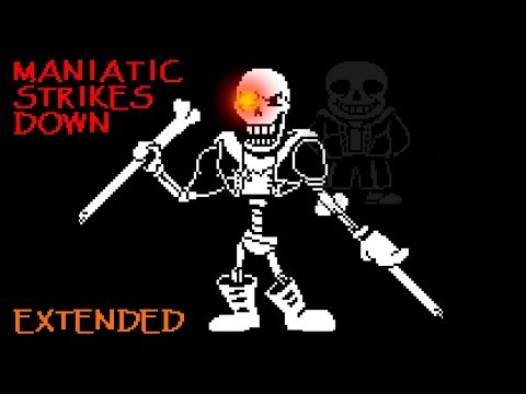 [Undertale AU - Disbelief Hard Mode] [Phase 2] Maniatic Strike Down (EXTENDED)