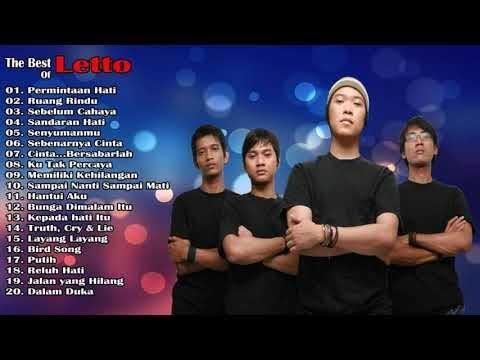 LETTO - Lagu Pilihan Terbaik Letto [ Full Album ] Populer Lagu Indonesia Tahun 2000an