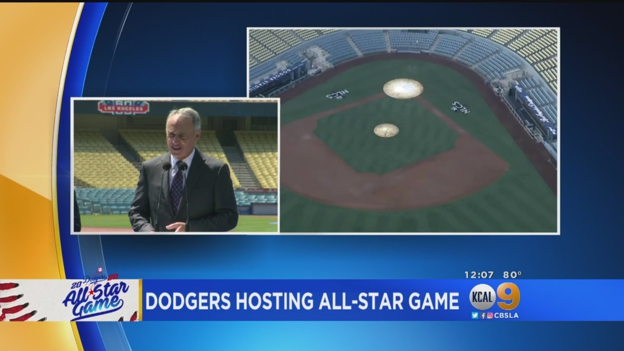 MLB Commissioner Announces LA To Host 2020 All-Star Game