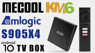 ALL NEW!!! Mecool KM6 Classic Amlogic S905X4 Android 10 Q 4K TV Box