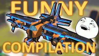How To Carry a Team - Funny Robocraft Compilation