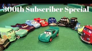 300th Subscriber Special Disney Pixar Cars Radiator Springs Townies