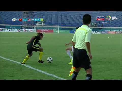 Sukan Asia 2018: Sorotan Aksi Perlawanan   Kyrgyzstan 1- 3 Malaysia   Kumpulan E   Astro Arena