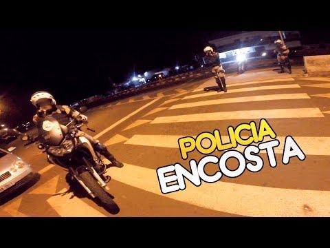 LEVEI UMA ABORDAGEM POLICIAL DE CB1000 😱 ‹ Bruno Garcia ›