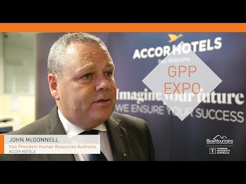 John McDonnell, Vice President Human Resources Australia, ACCOR