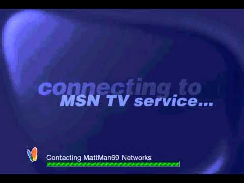 Msn tv webtv dialing connecting to msntv mid youtube for Web tv camera