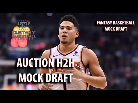 Fantasy Basketball Mock Draft | Watch Along With An Auction Draft