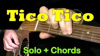 TICO TICO: Easy Guitar Lesson + TAB + CHORDS by GuitarNick