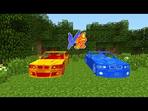 LAV ARABA VS SU ARABA! - Minecraft