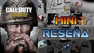 Mini Reseña Call of Duty: WWII | 3GB