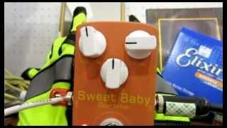 JOYO SWEET BABY OVERDRIVE EFFECT PEDAL DIEZEL VH4 AMPLIFIER ELMWOOD...