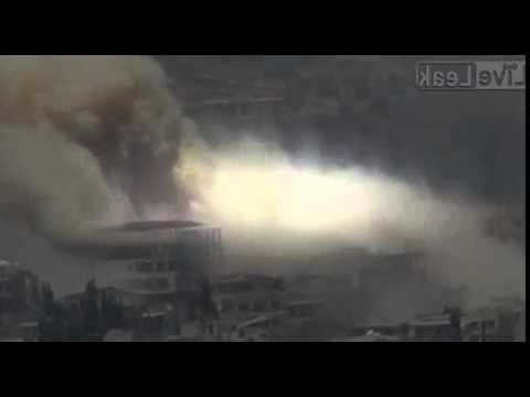 2015-07-07 The Battle of Zabadani: Heavy shelling by Syrian Army and Hezbollah