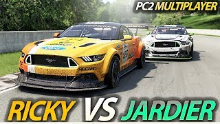 Project Cars 2 Multiplayer: Jardier vs Ricky in one of my most exciting races this year