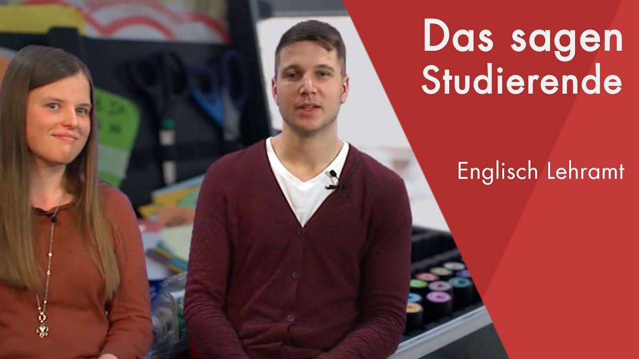 Lehramt Englisch Studieren