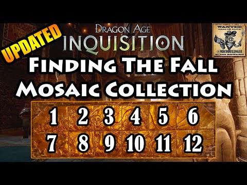 Dragon Age Inquisition - The Fall - Mosaic Piece Locations - 4K Ultra HD