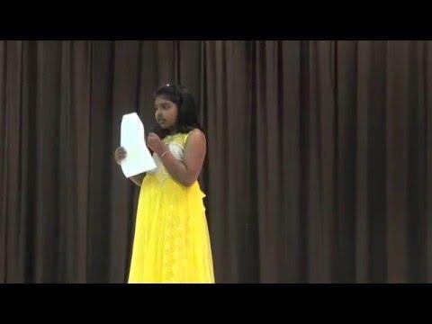 Desam manade song by Eesha at International night 2016