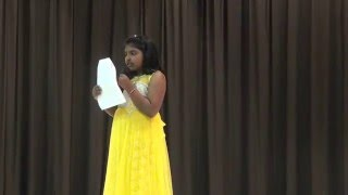 Desam manade song by Eesha at International night 2016