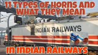 Video 11 Types Of Horns And What They Mean In Indian Railways 🚂 || Gyan Manch download MP3, 3GP, MP4, WEBM, AVI, FLV Agustus 2018