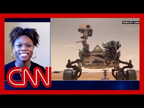 Georgia Tech student celebrates her work on Mars rover