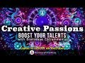 "Quick Boost to Unlock Creativity - 420.83Hz Frequency to  ""Turn On Your Creative Passion"""