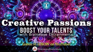 Quick Boost to Unlock Creativity - 420.83Hz Frequency to  'Turn On Your Creative Passion'