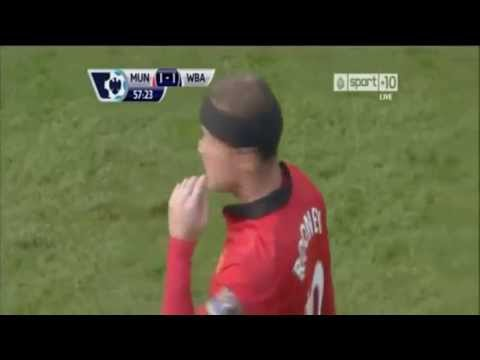 Manchester United Vs West Bromwich 1-2 rooney amazing goals & Highlights HD