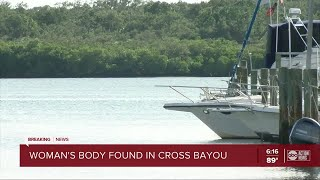 Woman's body found near a marina in St. Pete