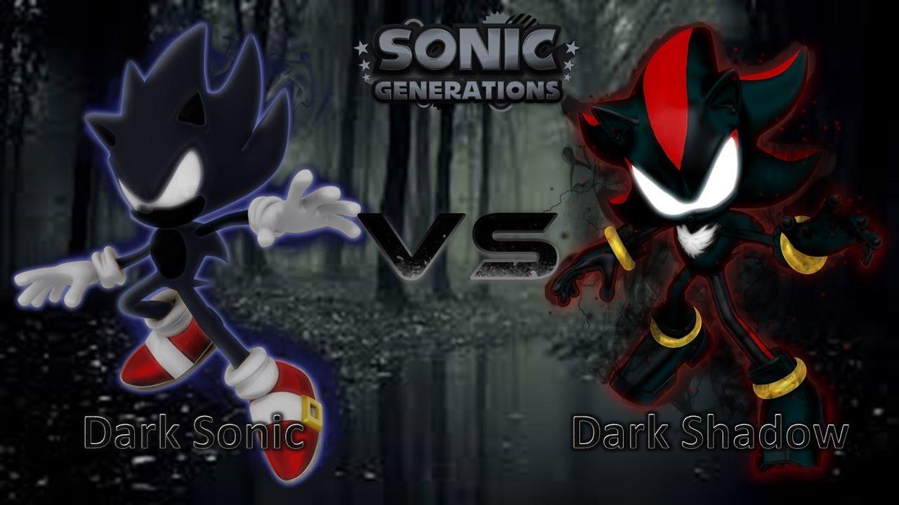 Sonic Generations Mod Part 133 Dark Sonic Vs Dark Shadow Youtube