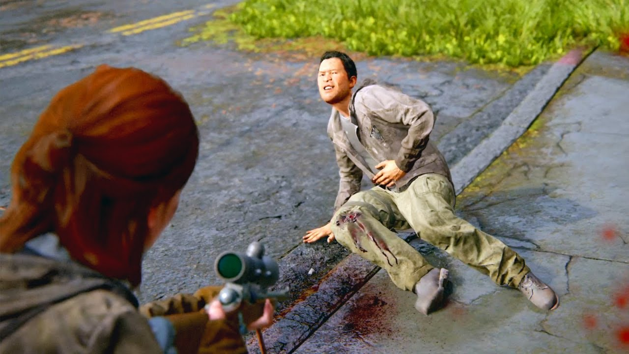 The Last Of Us Part 2 - Brutal Combat Gameplay Vol. 2