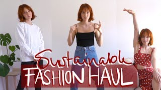 Kbye , Fast Fashion! - Fair & Sustainable Fashion Haul