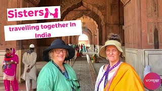 Sisters meeting in India after 7 years women traveling safe.