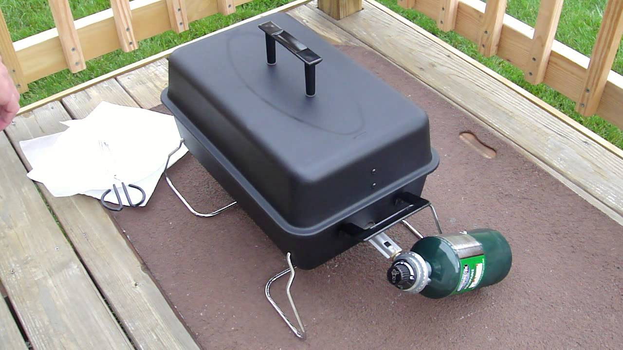 Good Review Of Char Broil 190 Table Top Gas Grill Model 465133010   YouTube