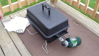 Review Of Char-broil 190 Table Top Gas Grill Model 465133010