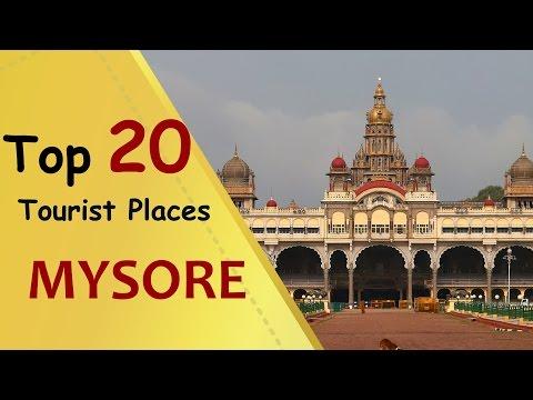 """MYSORE"" Top 20 Tourist Places | Mysore Tourism"