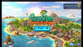 Paradise City Island Sim Bay Unlimited Gold & Unlimited Cash MOD APK