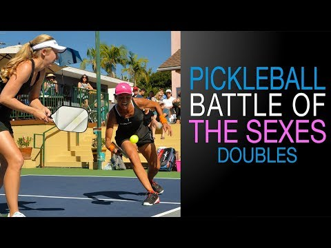Pickleball Battle of the Sexes DOUBLES Match - 2017 streaming vf