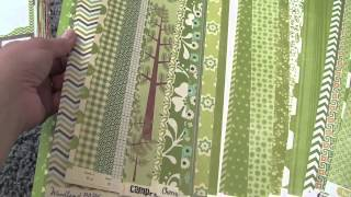 Scrap Room Organizing: Pattern Paper Organizing