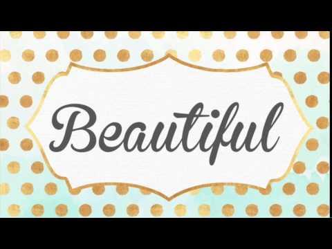 Beautiful - Christina Aguilera (Piano Instrumental Karaoke Track) By Cherish Tuttle