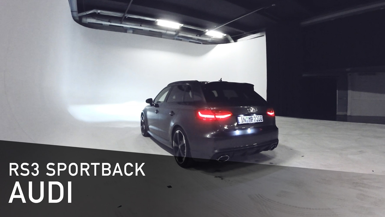 audi rs3 sportback quattro 2015 with exhaust valves snabshod com youtube. Black Bedroom Furniture Sets. Home Design Ideas