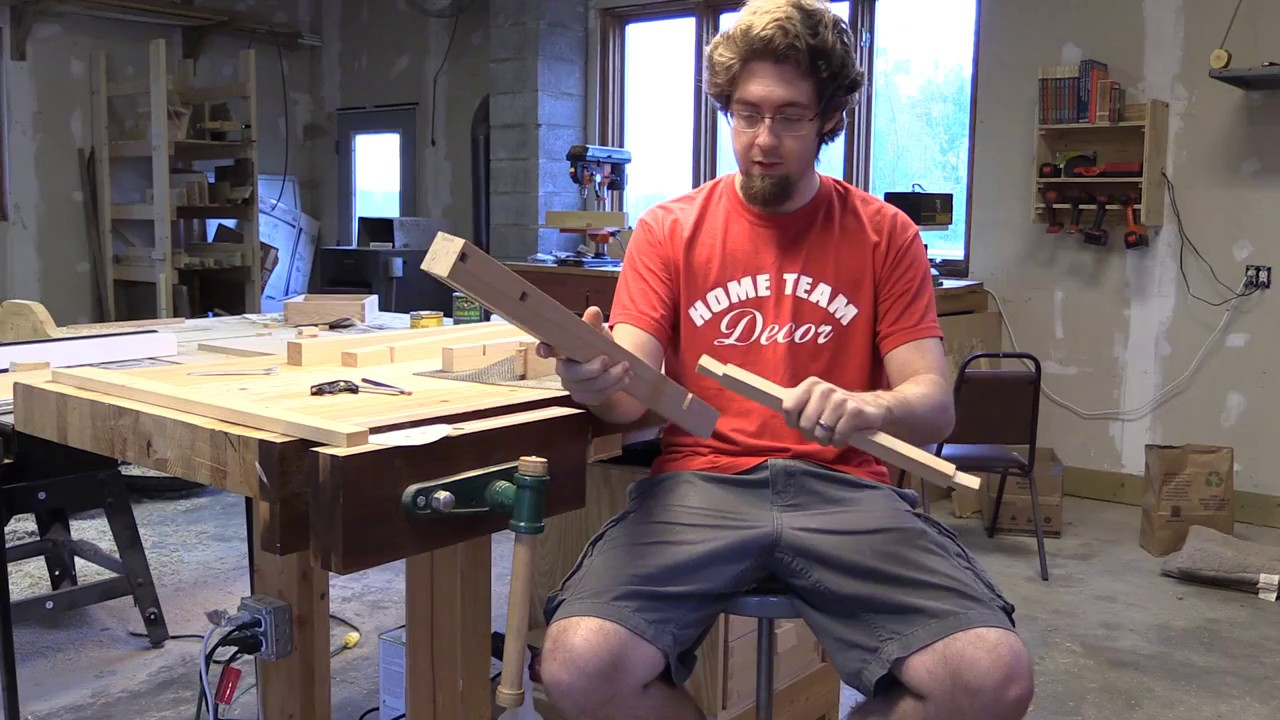 Download How I make a dovetail lap joint