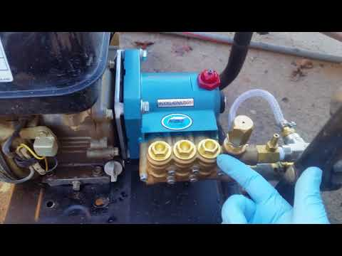 Pressure washer upgrade...CAT PUMP with honda gx 160