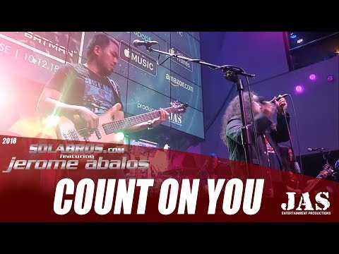 Count On You - Tommy Shaw (Cover) - SOLABROS.com feat. Jerome Abalos