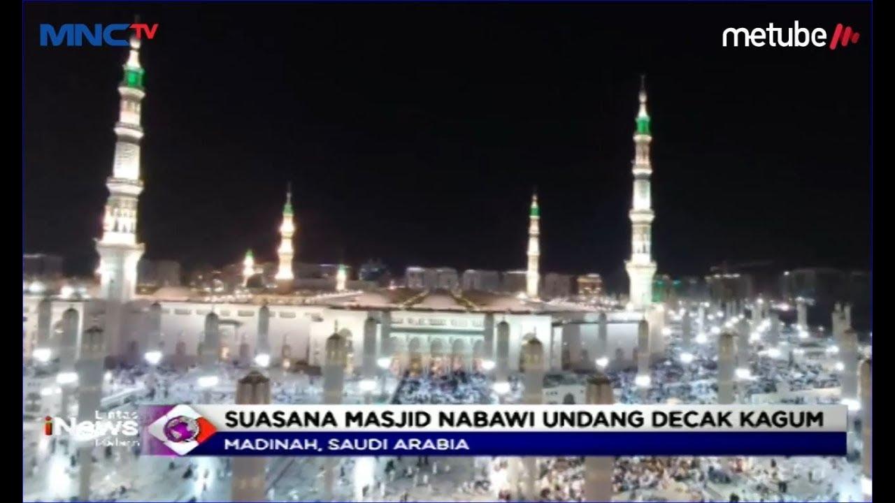Keindahan Masjid Nabawi Bikin Jemaah Haji Betah Dan Kagum Lim 18